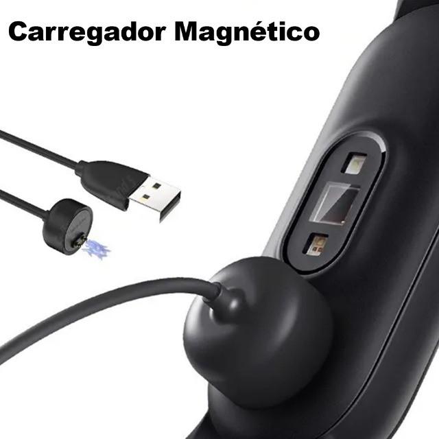 Smartband M5 com medidor de pressão