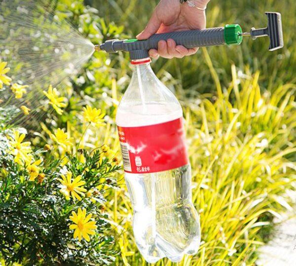Pulverizador manual por garrafa pet