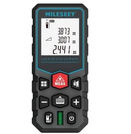 Trena a Laser Digital Profissional Mileseey X5 40m