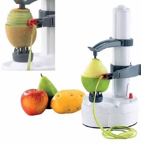 Descascador de legumes e frutas elétrico portátil