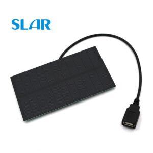 Placa Solar 5v Com Saída USB