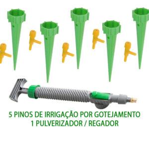Kit Para Regar Plantas E Jardim